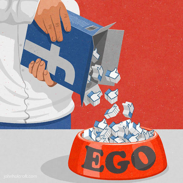 FB feeds your ego